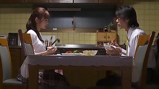 Diffident Asian wife is fighting her sexual temptation