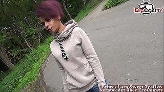 german ebony teen hitchhiker public leman pick up