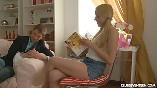 Russian lay teen Andy longed-for to attempt anal sex for the first maturity